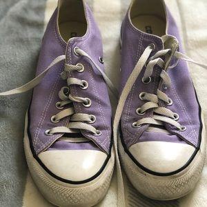 ✨Purple Converse Shoes✨